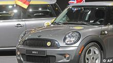 Deutschland Autoindustrie IAA BMW Elektro Mini Bildgalerie 4
