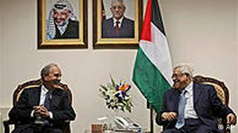 Mahmoud Abbas George Mitchell