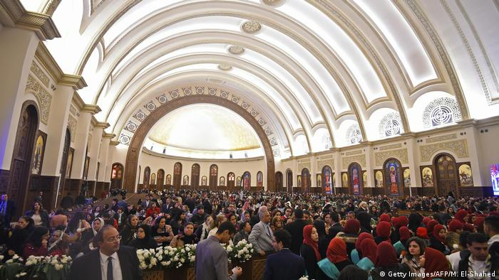 Worshippers attend Orthodox Christmas Mass and the inauguration of the Cathedral of the Nativity of Christ in Egypt's new administrative capital