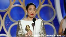 USA | 76th Golden Globe Awards | Sandra Oh (Reuters/NBC/Handout/P. Drinkwater)