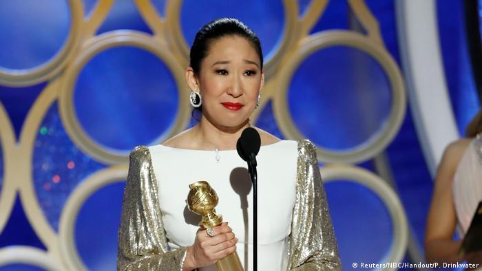 USA   76th Golden Globe Awards   Sandra Oh (Reuters/NBC/Handout/P. Drinkwater)