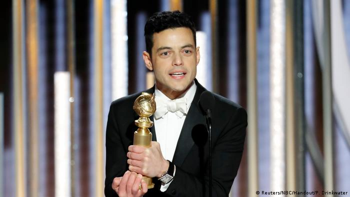 USA | 76th Golden Globe Awards | Rami Malek (Reuters/NBC/Handout/P. Drinkwater)