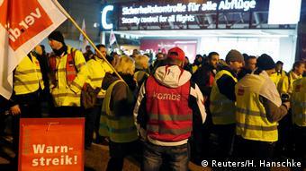Προειδοποιητικές απεργίες των εργαζομένων στην ασφάλεια στο αεροδρόμιο Σένεφελντ του Βερολίνου