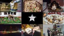 DW Euromaxx Zuschaueraktion Weihnachten Collage Schlagworte: Weihnachten, Euromaxx, Zuschaueraktion, Collage Wer hat das Bild gemacht/Fotograf/Quelle?: DW (gem. Teilnahmebedingungnen) Bildbeschreibung: Weihnachten, Euromaxx, Zuschaueraktion, Collage Bilder aus der DW-Sendung Euromaxx