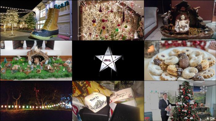 DW Euromaxx - Zuschaueraktion Weihnachten Collage (DW)