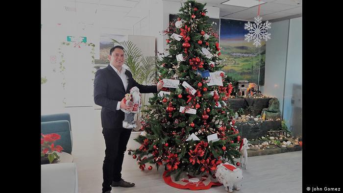 DW Euromaxx - Zuschaueraktion Weihnachten Gewinner (John Gomez)