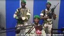 Gabun mutmaßlicher Putschversuch des Militärs