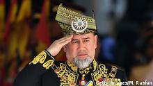 König Sultan Mohammed V. Malaysia