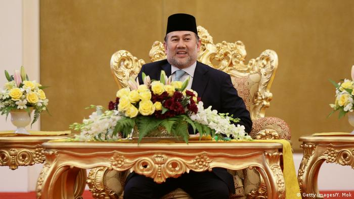 König Sultan Mohammed V. Malaysia (Getty Images/Y. Mok)