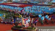 Kambodscha Feier 40 Jahre Befreiung vom Regime der Roten Khmer