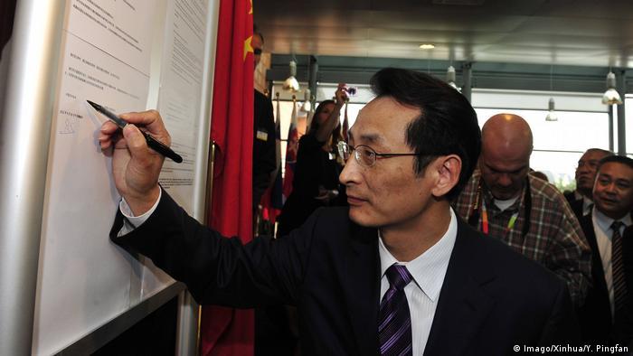 China Chen Gang, ehemaliger Vize-Bürgermeister von Peking (Imago/Xinhua/Y. Pingfan)