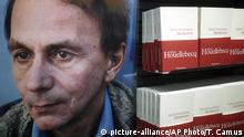 Copies of French writer Michel Houellebecq's novel Serotonine are displayed in a book store, in Paris, Friday, Jan. 4, 2019. (AP Photo/Thibault Camus) |