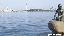 Die kleine Meerjungfrau, Wahrzeichen von Kopenhagen, Dänemark