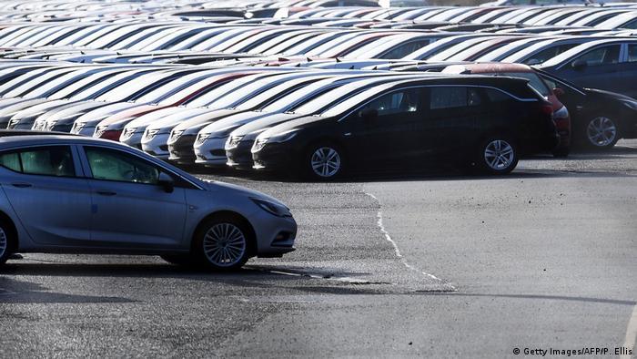Großbritannien neue Vauxhall Autos in Ellesmere Port (Getty Images/AFP/P. Ellis)