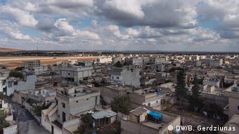Вид на город Кобани