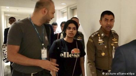 Thailand setzt Abschiebung von saudischer Frau vorläufig aus (picture-alliance/dpa)