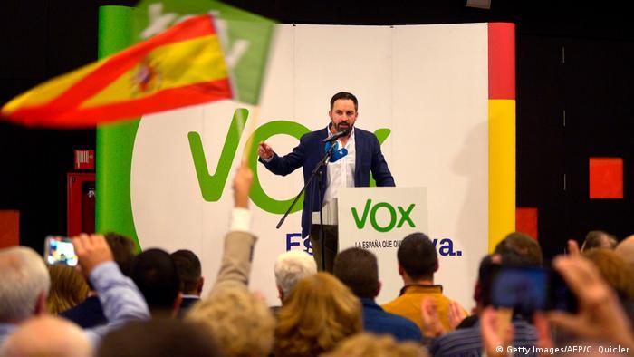 Spanien Katalonien Politik l Vox-Partei
