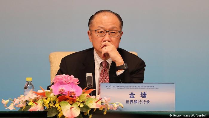 USA Weltbank l Jim Yong Kim trifft zurück