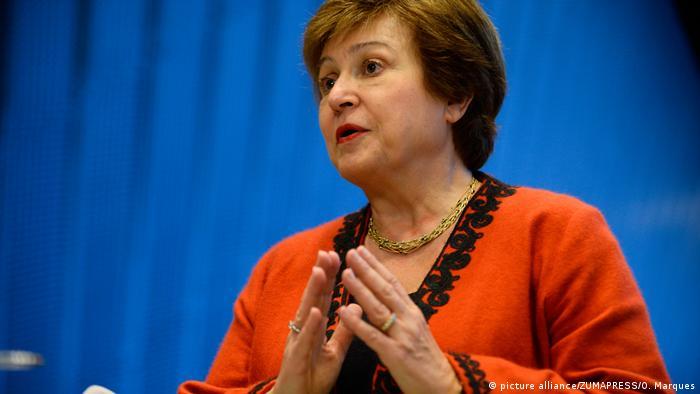 Weltbank-Geschäftsführerin Kristalina Georgieva