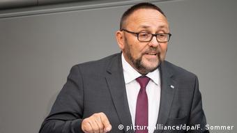 O deputado Frank Magnitz, da AfD