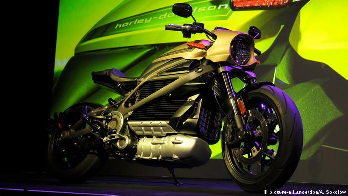 Harley Davidson's LiveWire motorbike
