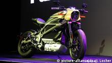 USA, Las Vegas: Harley Davidson zeigt auf der Technik-Messe CES