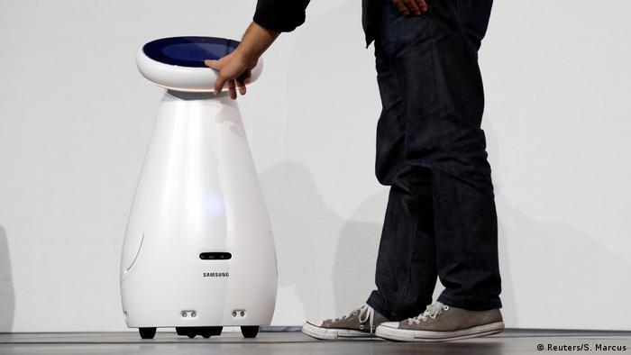 Samsung Bot Care, a healthcare robot
