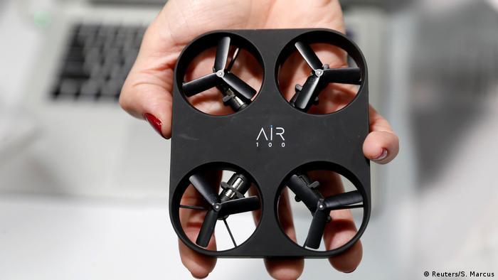 An Air 100 selfie drone