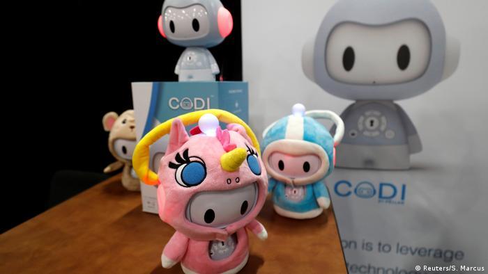 Codi, ein interaktiver Storytelling-Roboter für Kinder