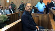 Manuel Chang vor Gericht Mosambik Finanzminister