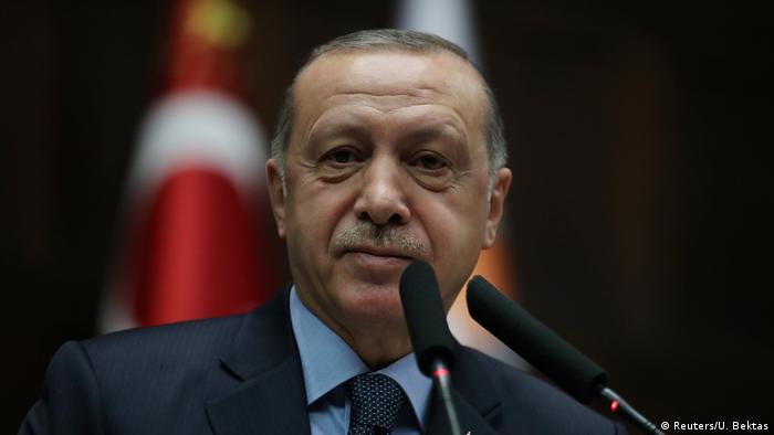 Türkei Präsident Erdogan spricht vor dem Parlament in Ankara