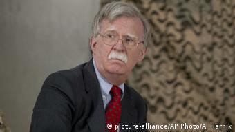 IRak John Bolton, Sicherheitsberater von US-Präsident Trump (picture-alliance/AP Photo/A. Harnik)