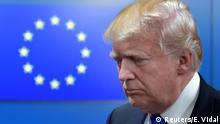 Belgien Tusk empfängt Trump in Brüssel