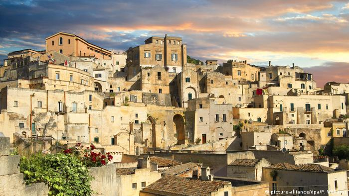 Panoramic view of Matera