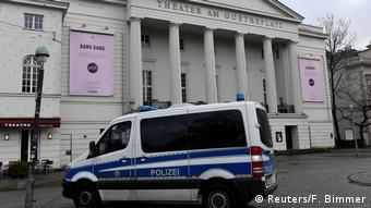 Нападение произошло у здания театра в центре Бремена
