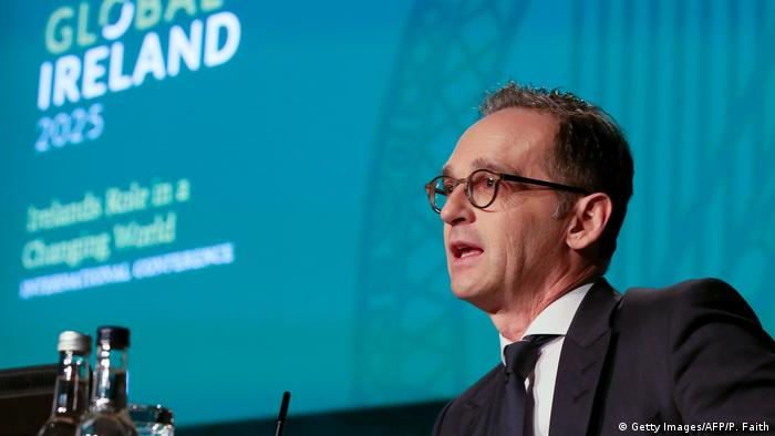 Irland Außenminister Heiko Maas (Getty Images/AFP/P. Faith)