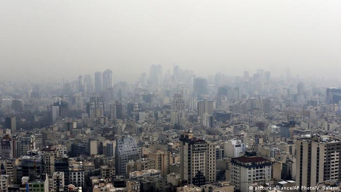 Smog in Iran