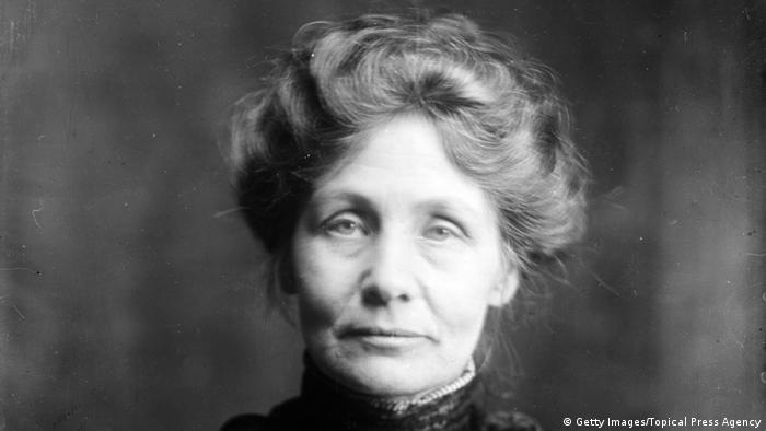 Großbritannien Emmeline Pankhurst Frauenrechtlerin (Getty Images/Topical Press Agency)