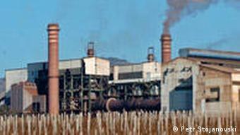 Mazedonien Land und Leute Industrie Feni Nickelhersteller