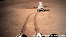 China Mond-Rover Jadehase 2 (picture-alliance/XinHua/CNSA)