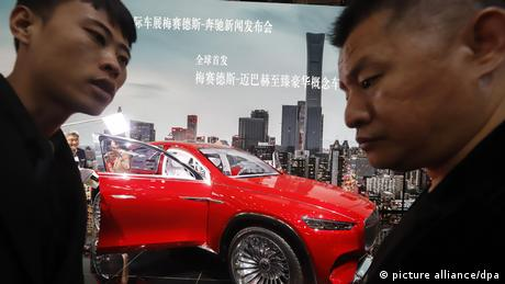 Mercedes-Maybach auf Automesse in Peking (picture alliance/dpa)