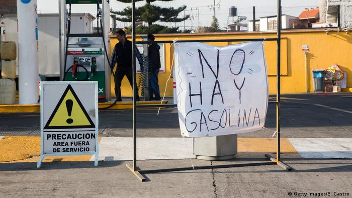 Mexiko - Kraftstoffmangel