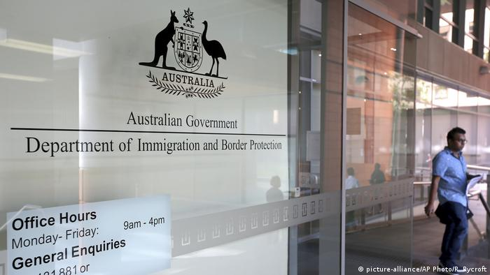 Australian Government Department of Immigration and Border Protection (picture-alliance/AP Photo/R. Rycroft)