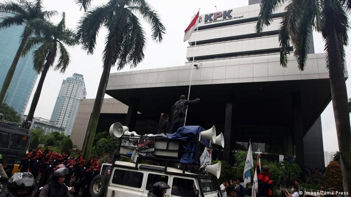 Indonesien 2015 | Protest KPK, Kommission für Korruptionsbekämpfung in Jakarta