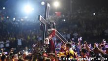 Philippinen Fest des Schwarzen Nazareners in Manila