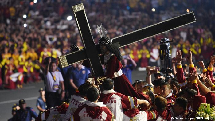 Philippinen Fest des Schwarzen Nazareners in Manila (Getty Images/AFP/T. Aljibe)