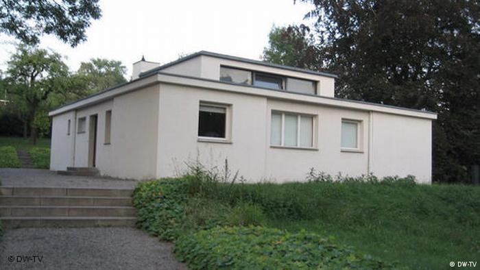 Casa piloto Bauhaus en Weimar.