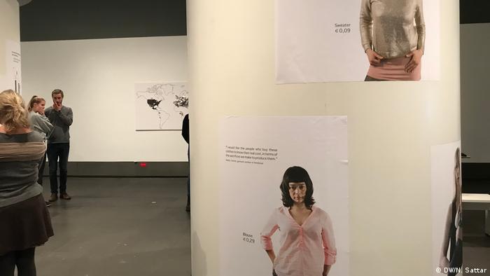 Köln - Rautenstrauch-Joest-Museum - Ausstellung: Fast Fashion - Die Schattenseiten der Mode (DW/N. Sattar)