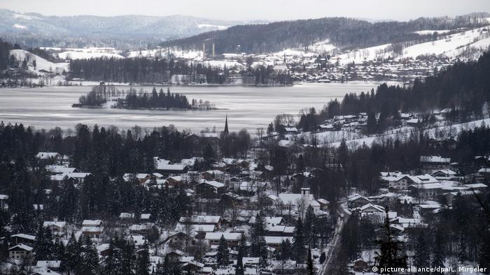 Snow on and around Schliersee in Bavaria