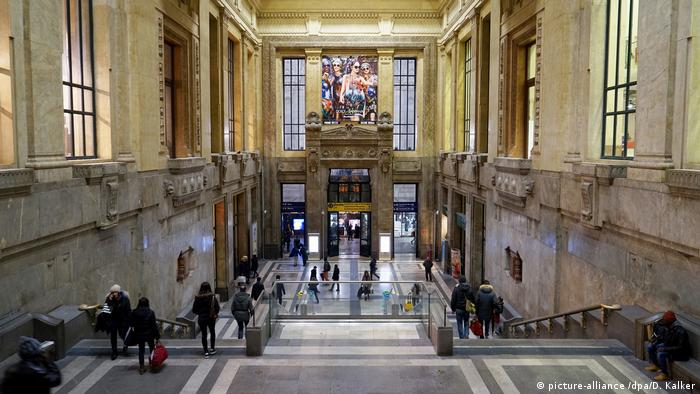 The inside of Milan's central station is an architectural marvel. But will Italy's Trenitalia train operation be able to lure passengers away from cars and planes?
